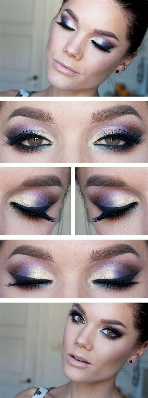 tutorial makeup natural untuk hang out best purple eye makeup tutorials for purple lovers