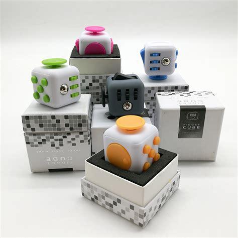 Mainan Pelepas Stress Fidget Cube Mainan Kubus Cube 2 fidget cube mainan pelepas stress black lazada indonesia