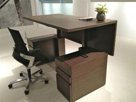 desks with adjustable height millennia height adjustable desk standing desk concepts