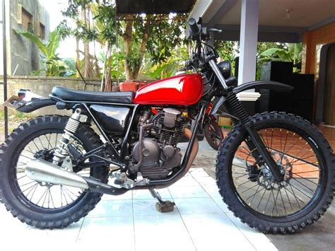 harga custom motor  katros garage customotto