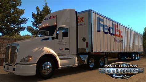 volvo trucks america inc truck simulator kenworth t680 fedex combo