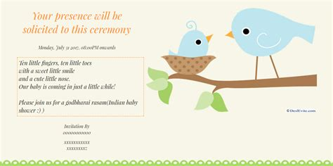 Baby Shower Slideshow Songs by Indian Baby Shower Invitation Baby Shower Invitations