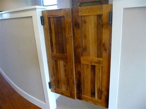 wooden swing doors western style swinging saloon doors reclaimed wood
