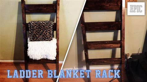 decke yakwolle my next project ladder blanket rack