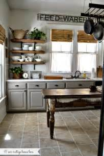Farmhouse Kitchen Cabinets by 20 Farmhouse Kitchens For Fixer Upper Style Industrial Flare
