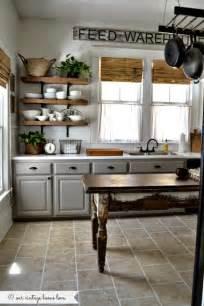 Our vintage home love farmhouse kitchen 20 farmhouse kitchens via a