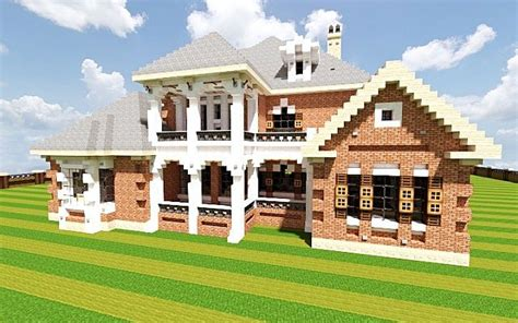 Ranch Style Home Designs by French Country Home Minecraft House Design