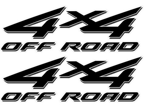 Ford 4x4 Decals by Vinylmark 2002 2003 2004 2005 2006 2007 2008 Ford F