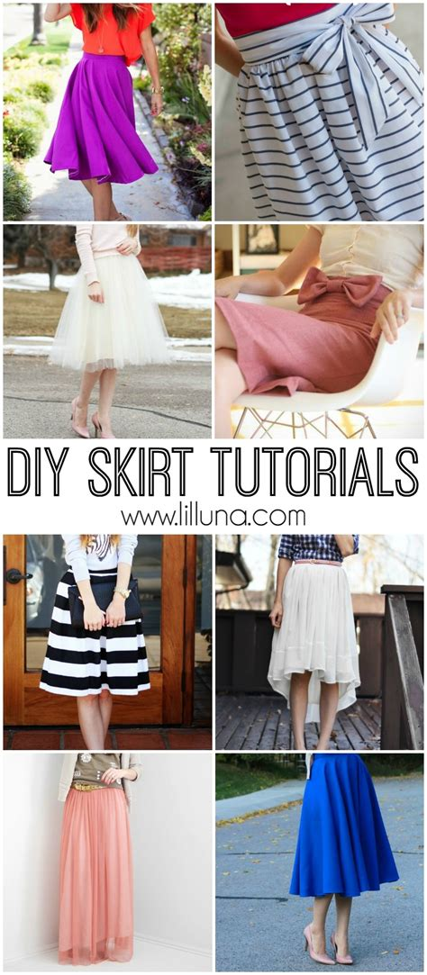diy fashion diy skirts