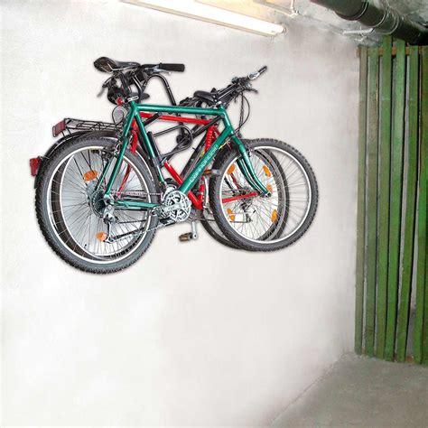 fahrräder platzsparend aufbewahren eal eufab fahrrad wandhalter wandhalterung 16404