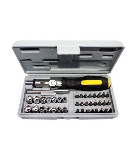 Toolset Socket Set 41 Pcs robomart screwdrivers 41 pc combination tool set with bits and sockets buy robomart