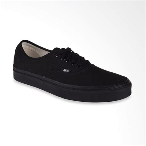blibli vans jual vans u authentic sneakers pria black vn000ee3bka