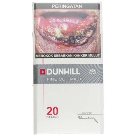 Dun Hill Mild 20 dunhill rokok cut filter indo honestbee