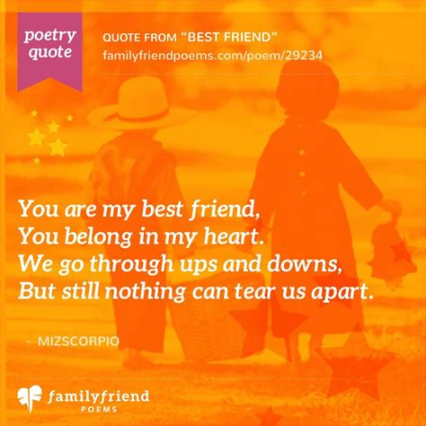 best poems strength of a friendship best friend best friend poem