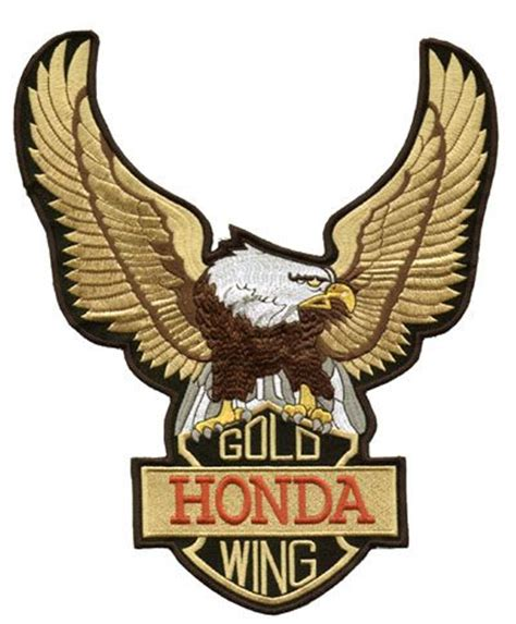 Vintage Honda Logo Wings Embroidered Motorcycle Honda Patch Jacket honda goldwing logo by yecgaa on deviantart goldwing schools and