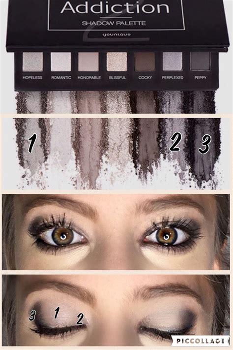 Mac Eyebrow Palette younique smokey eye addiction palette 2 makeup eyeshadow