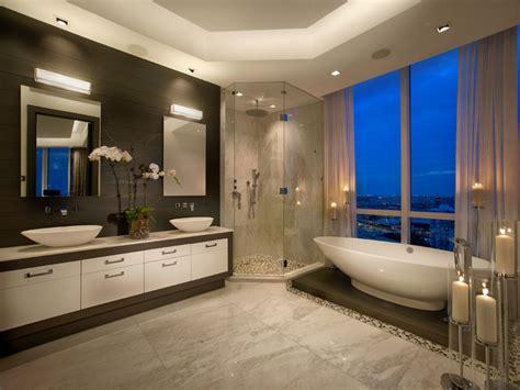 trump tower miami apartment contemporary bathroom