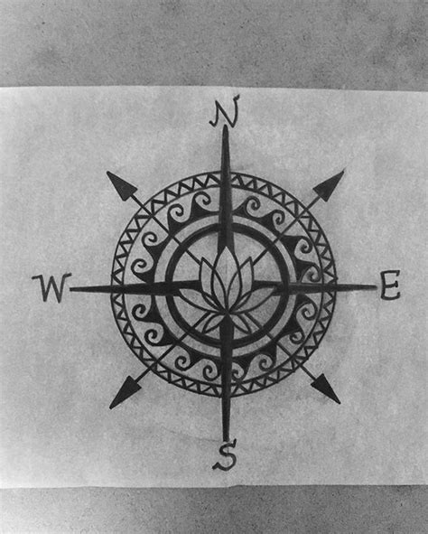 kleines handgelenk 5158 die besten 25 simple compass ideen auf