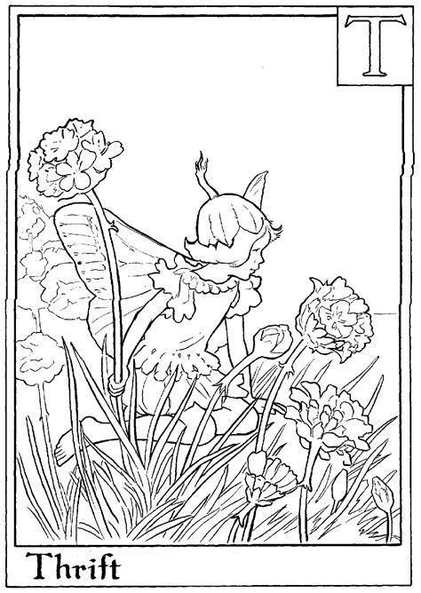 boy fairy coloring page coloriage a imprimer fee thrift gratuit et colorier