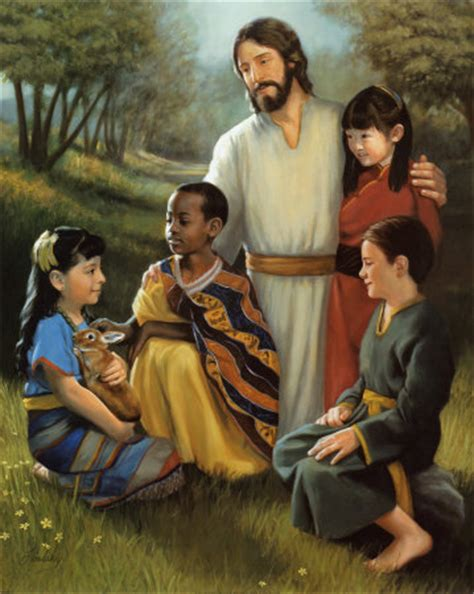 wallpaper anak cross pictures of jesus with children