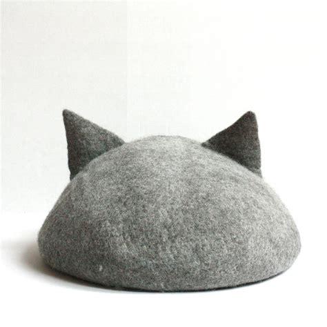 Handmade Cat Ears - handmade cat caves w ears the green