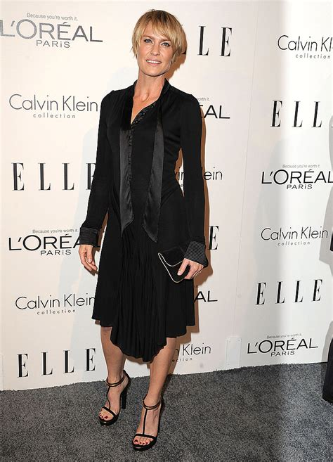 robin wright neck hole in her pictures of celebrities at the 2011 elle women in