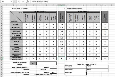 boleta de calificaciones 2015 2016 jalisco boleta de calificaciones primaria 2015 telesecundaria
