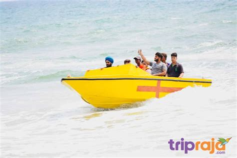 speed boat in goa watersports activities in goa guide locations