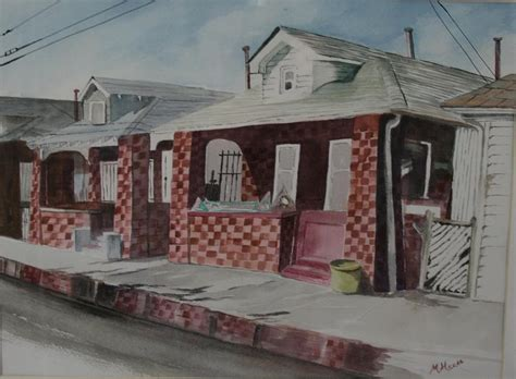 rockaway bungalows rockaway bungalows painting by meade