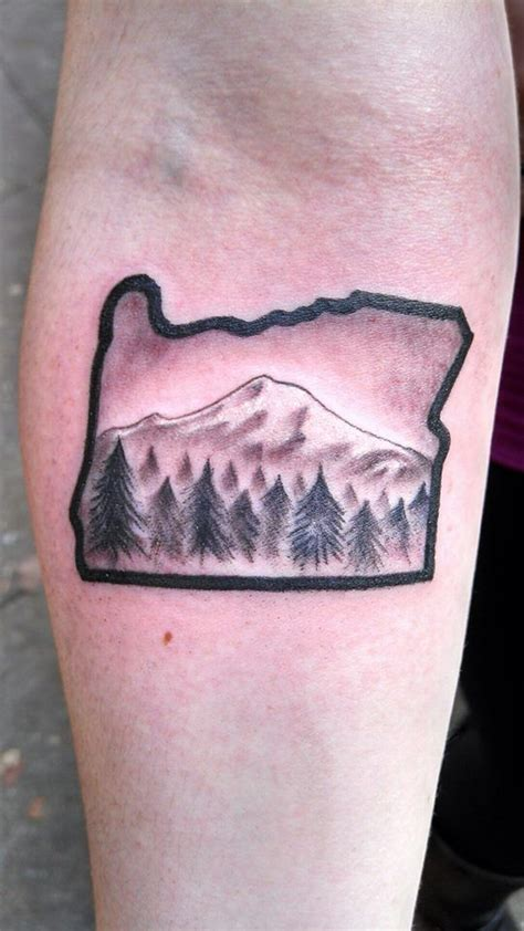 oregon tattoos my oregon with mt oregontattoo