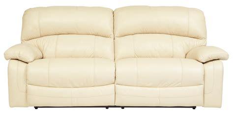 seat reclining damacio cream 2 seat reclining sofa from ashley u9820181