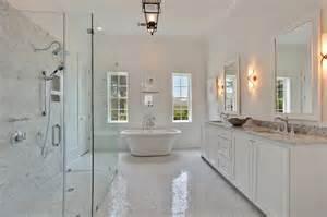 Master Bathroom White by Contemporary White Master Bath