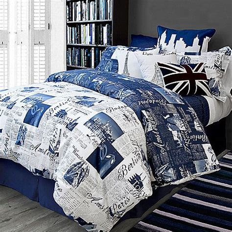 bed bath and beyond blue comforter bed bath and beyond passport bedding navy blue