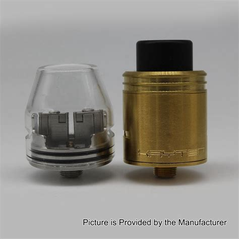 Kryten Styled Rda Rebuildable Atomizer Silver kryten style rda silver 24mm rebuildable atomizer w glass top cap