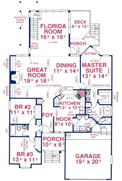 house plans with observation room third story observation deck 24751me 1st floor master
