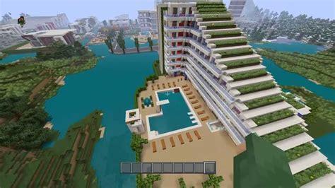 Apartment Building Blueprints Minecraft Ps4 Visite D Un H 244 Tel 7 233 Toile Youtube