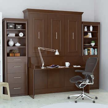 murphy bed desk costco wall beds costco
