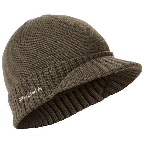 Wool Caps merino wool visor beanie hat pnuma