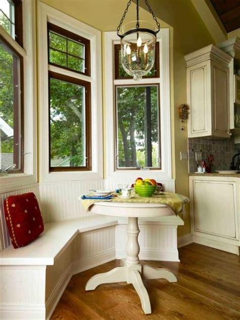 Kitchen Nook Decorating Ideas Space Saving Kitchen Nook Design With Window Seat And Storage