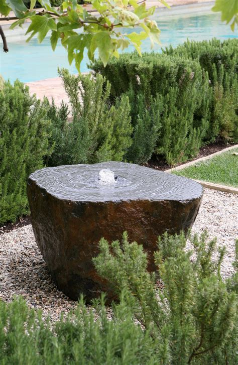 rock water features for the garden best 25 fountains ideas on garden