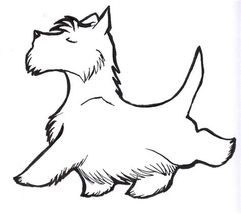 scottish terrier outline search results calendar 2015