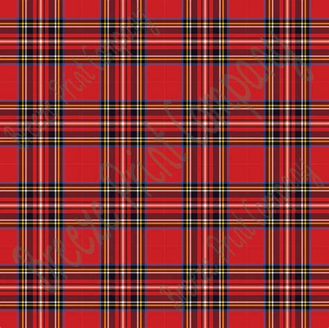 tartain plaid red tartan plaid heat transfer or adhesive vinyl sheet