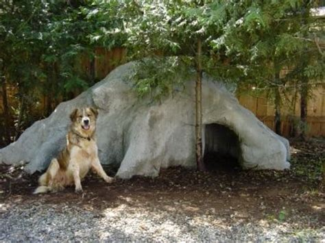 how to keep dog house cool dog cave dog houses and caves on pinterest
