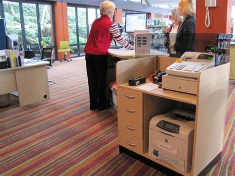 mobile press register circulation desk cash eftpos module for circulation areas supports our