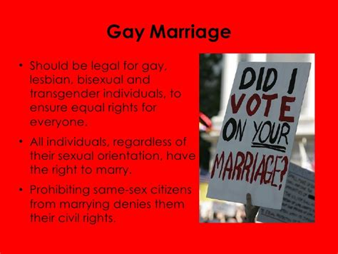 Pro and con gay marriage pdf