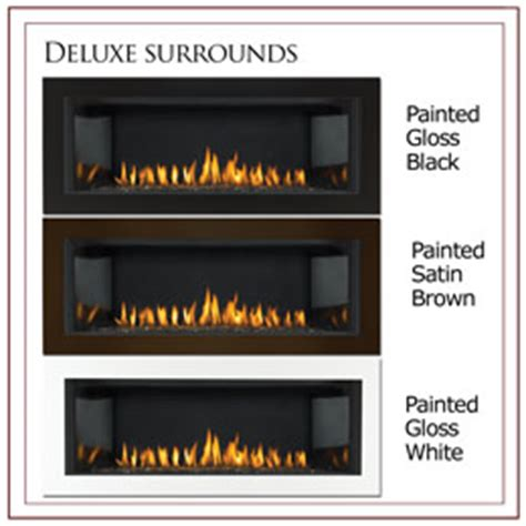 gas fireplace safety screen napoleon basic black four sided fireplace surround with