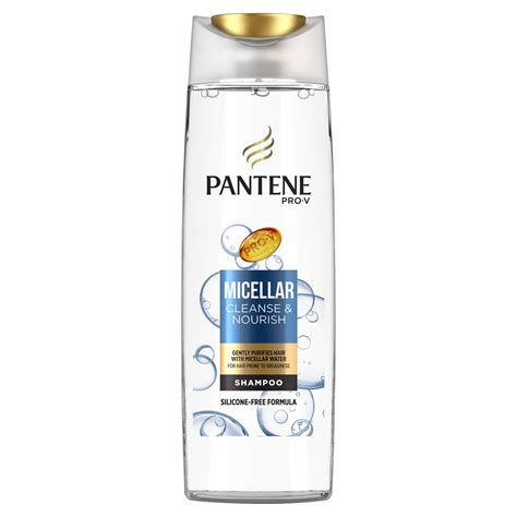 Ingredients In Pantene Detox Shoo by Pantene Micellar Cleanse And Nourish Shoo 400ml At