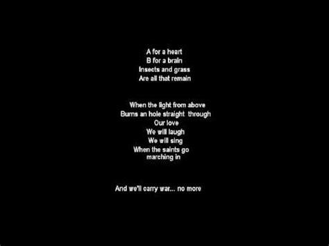 end game lyrics four words famous last words tears for fears lyrics youtube