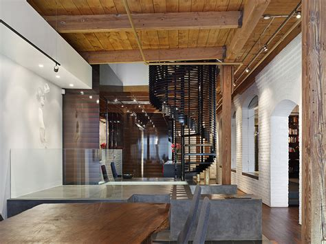 industrial masculine penthouse in new factory loft penthouse is eye for luxury