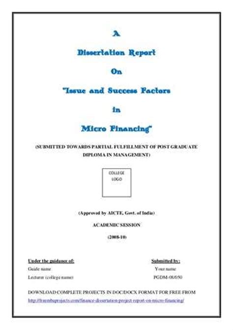 dissertation reports 9 2 annexure questionnaire dissertation report